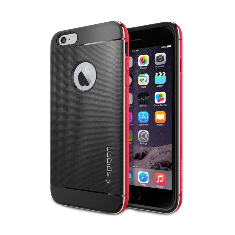Spigen Neo Hybrid Metal Red Casing for iPhone 6 Plus