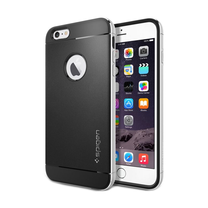 Spigen Neo Hybrid Metal Satin Silver iPhone 6 Plus