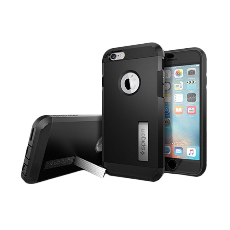 Spigen Perfect Armor Black Casing for iPhone 6S