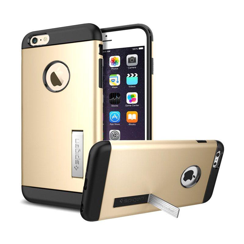 Spigen Slim Armor Champagne Gold Casing for iPhone 6 Plus