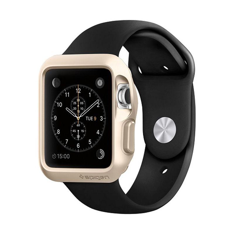 Spigen Slim Armor Gold Casing for Apple Watch [42mm]