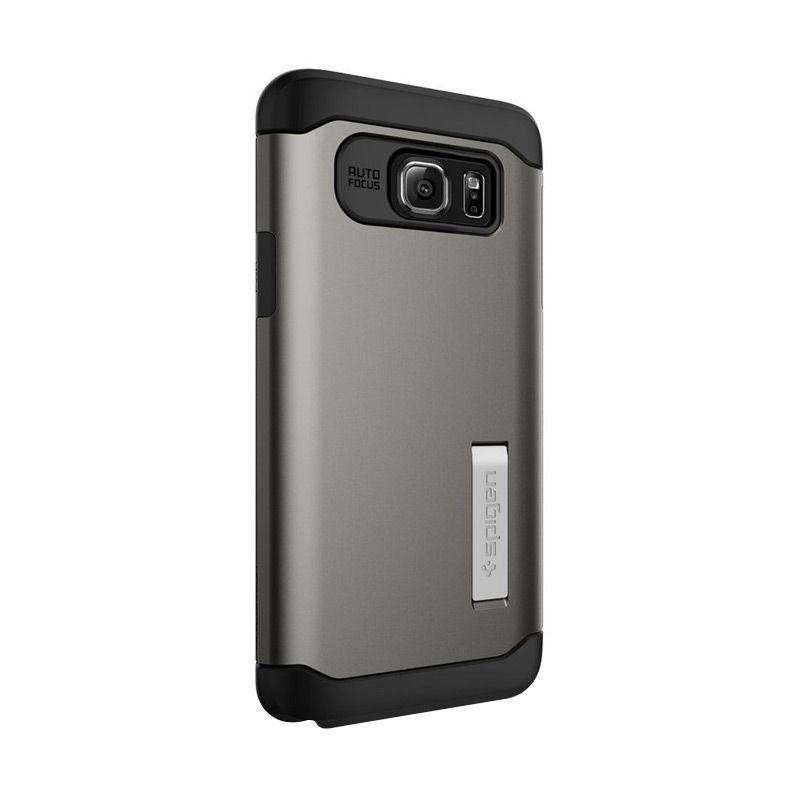 Spigen Slim Armor Gun Metal Casing for Samsung Galaxy Note 5