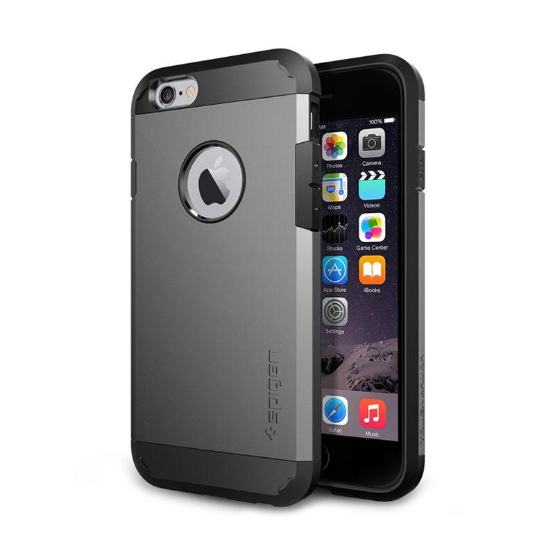 Spigen Slim Armor Gunmetal Casing For iPhone 6