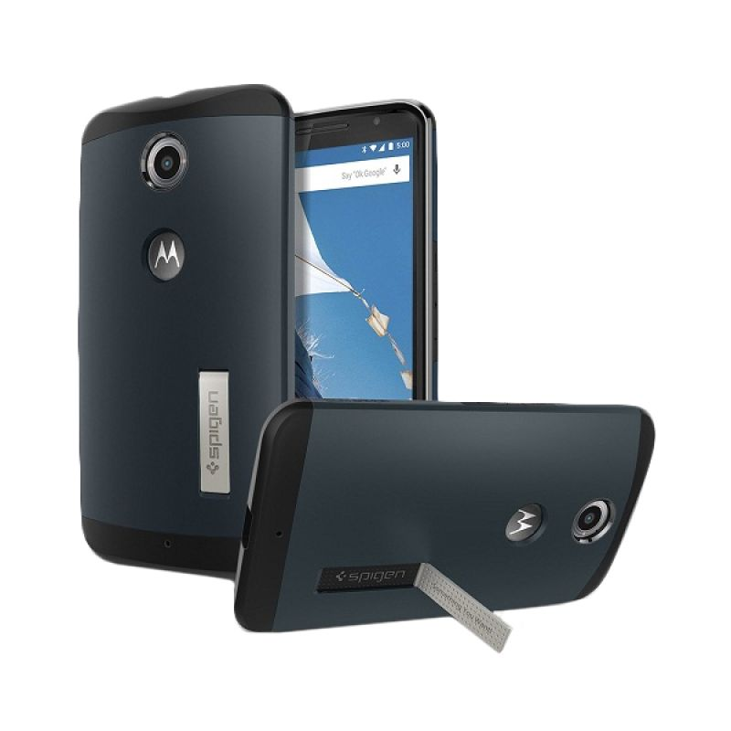 Spigen Slim Armor Metal Slate Casing for Nexus 6