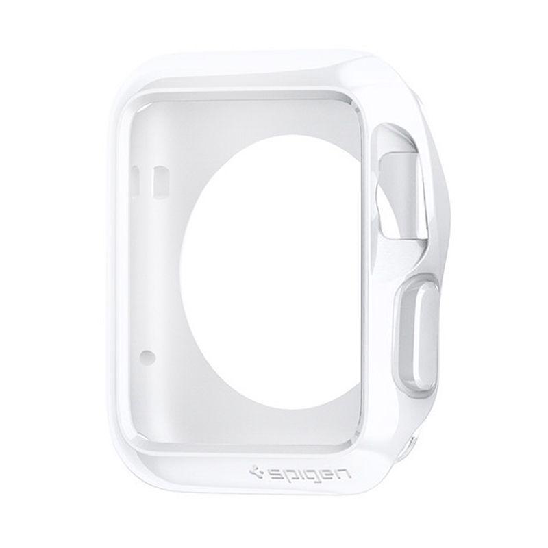 Spigen Slim Armor Silver Casing for Apple Watch [42mm]