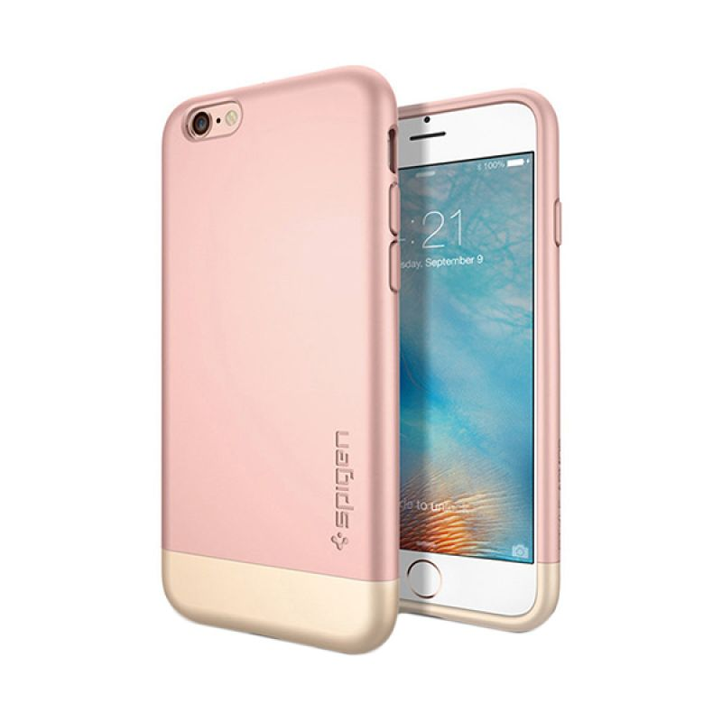 Spigen Style Armor Rose Gold Casing for iPhone 6S Plus