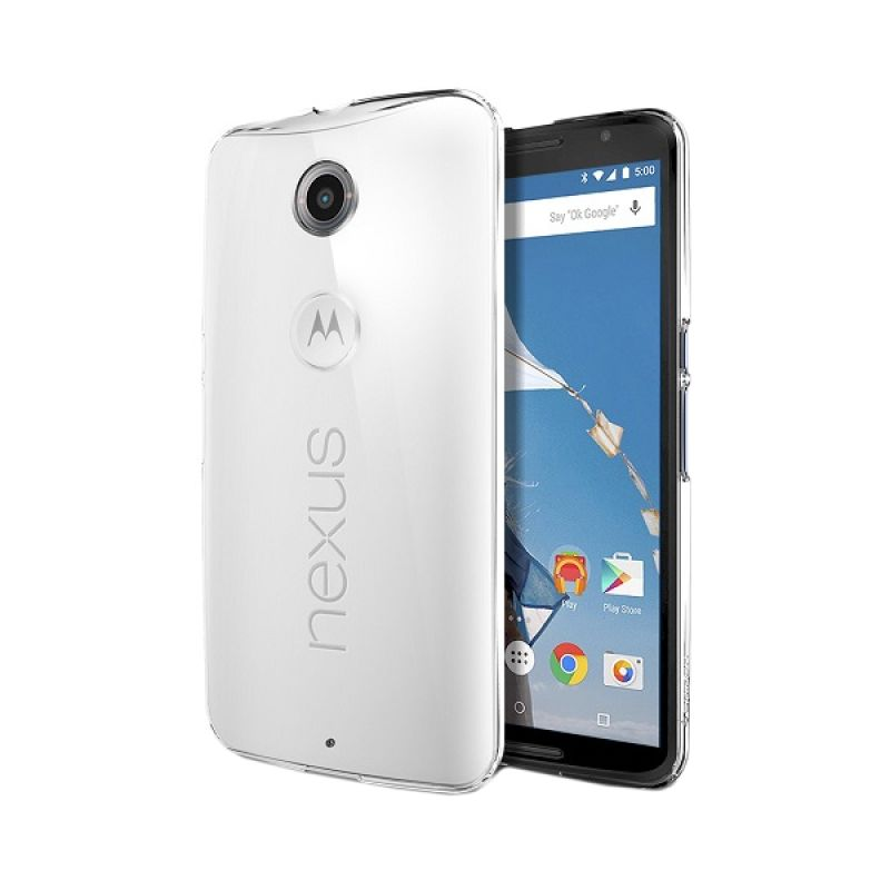 Spigen Thin Fit Crystal Clear Hardcase Casing for Nexus 6