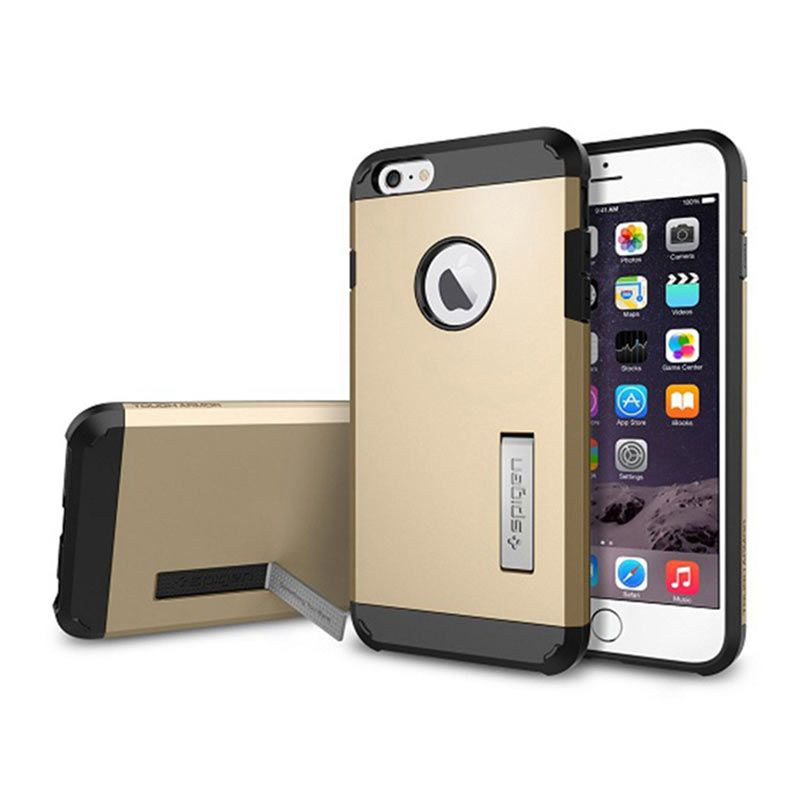 Spigen Tough Armor Champagne Gold Casing for iPhone 6 Plus