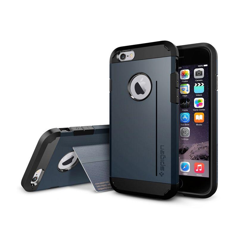 Spigen Tough Armor S Metal Slate Casing for iPhone 6