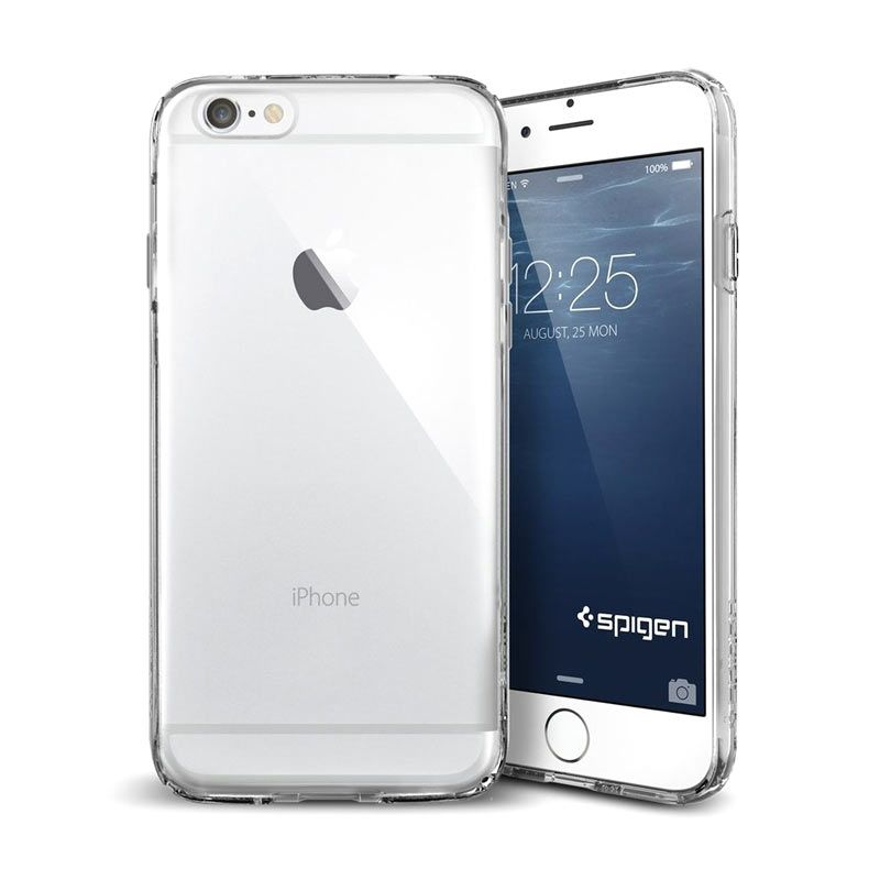 Spigen Ultra Capsule Crystal Clear Casing for iPhone 6 Plus