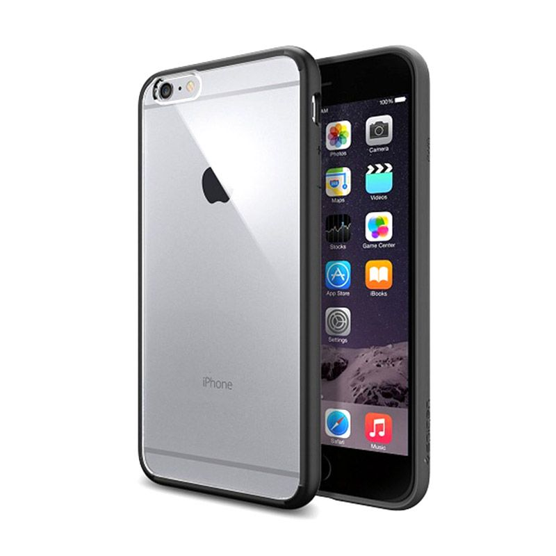Spigen Ultra Hybrid Black Casing for iPhone 6 Plus