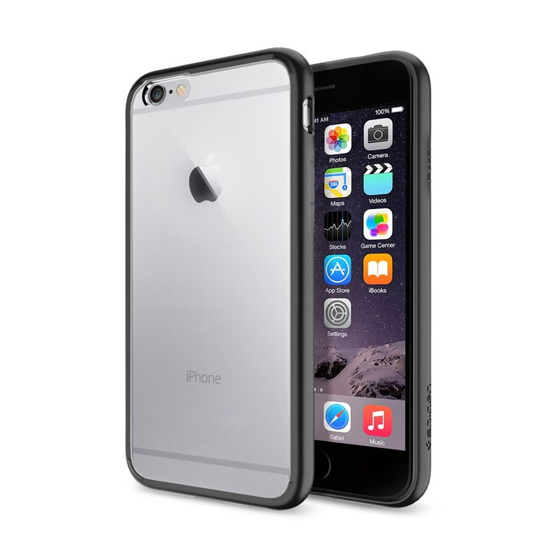 Spigen Ultra Hybrid Black Casing for iPhone 6