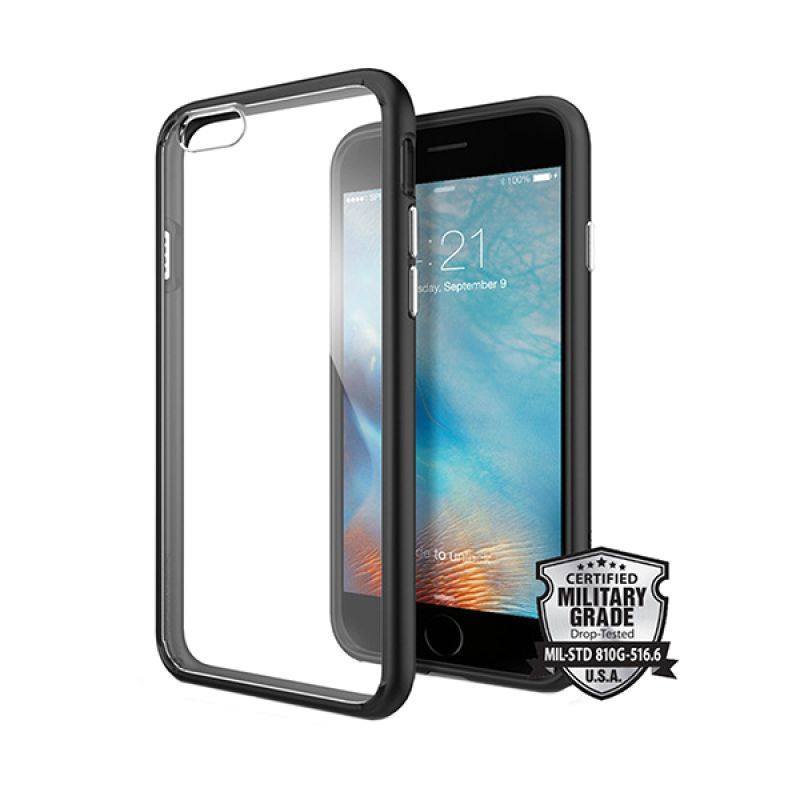 Spigen Ultra Hybrid Black Casing for iPhone 6S