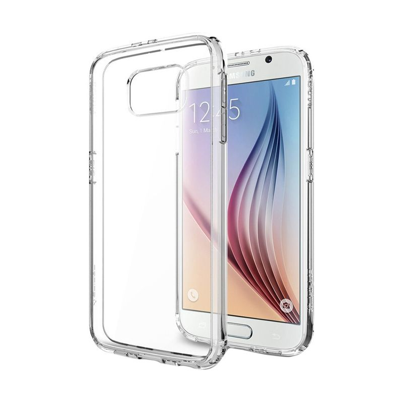 Spigen Ultra Hybrid Crystal Clear Casing for Galaxy S6 Edge
