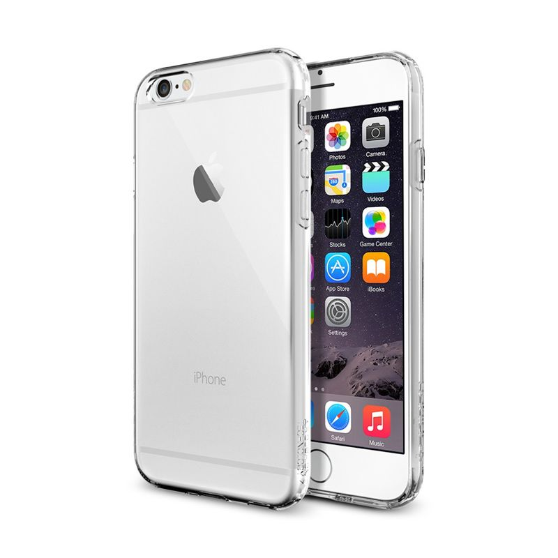Spigen Ultra Hybrid Crystal Clear Casing for iPhone 6