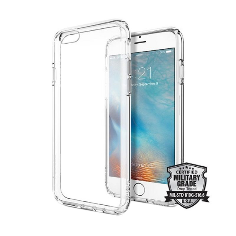 Spigen Ultra Hybrid Crystal Clear Casing for iPhone 6S Plus