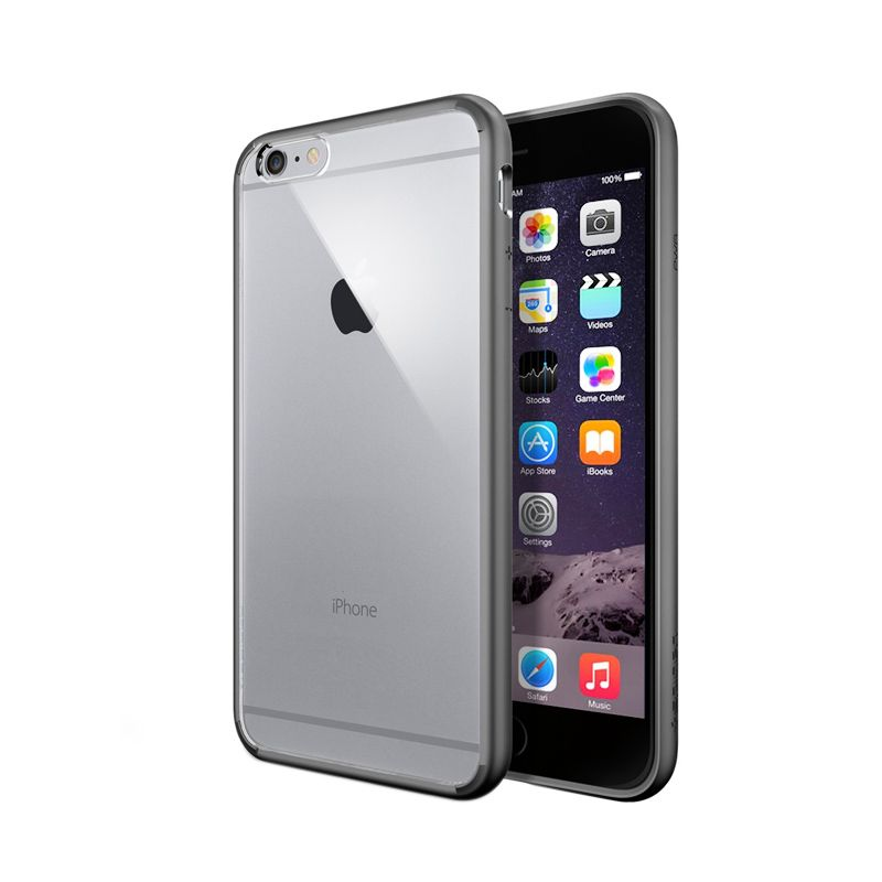 Spigen Ultra Hybrid Gunmetal Casing for iPhone 6 Plus
