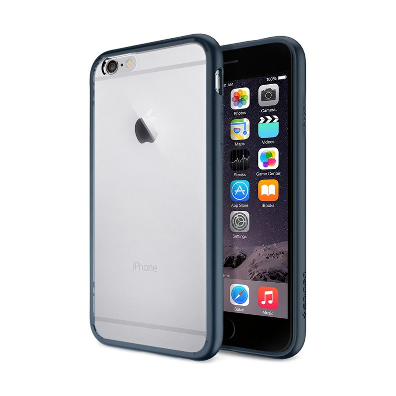 Spigen Ultra Hybrid Metal Slate Casing for iPhone 6