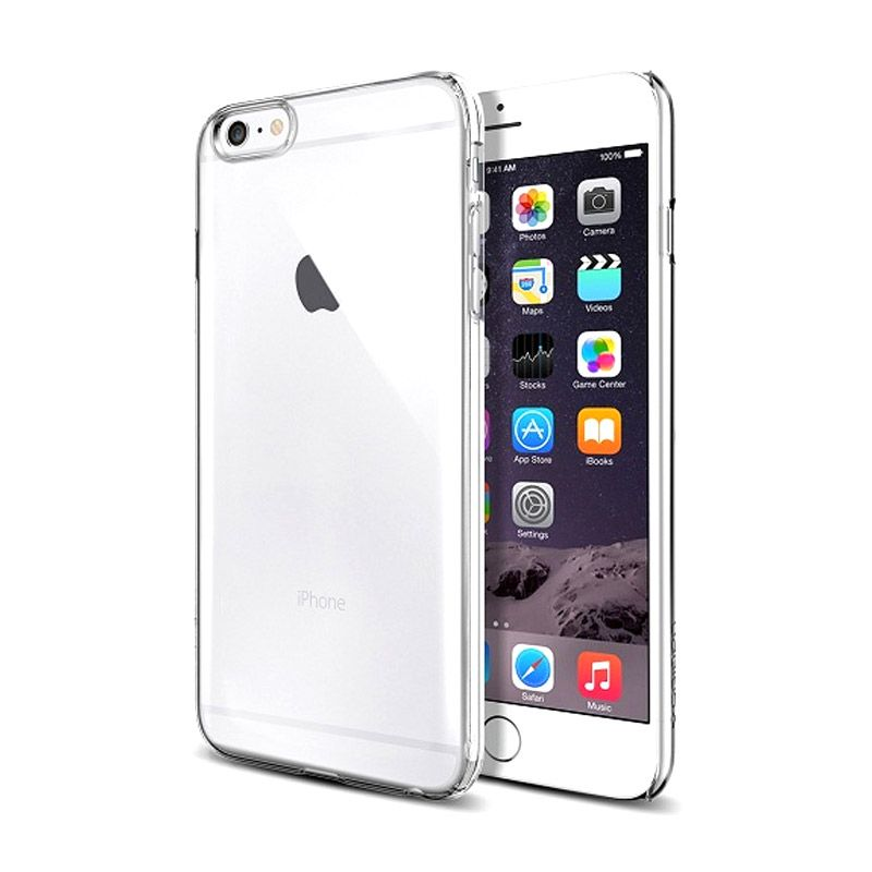Spigen Ultra Thin Fit Crystal Clear Casing for iPhone 6 Plus