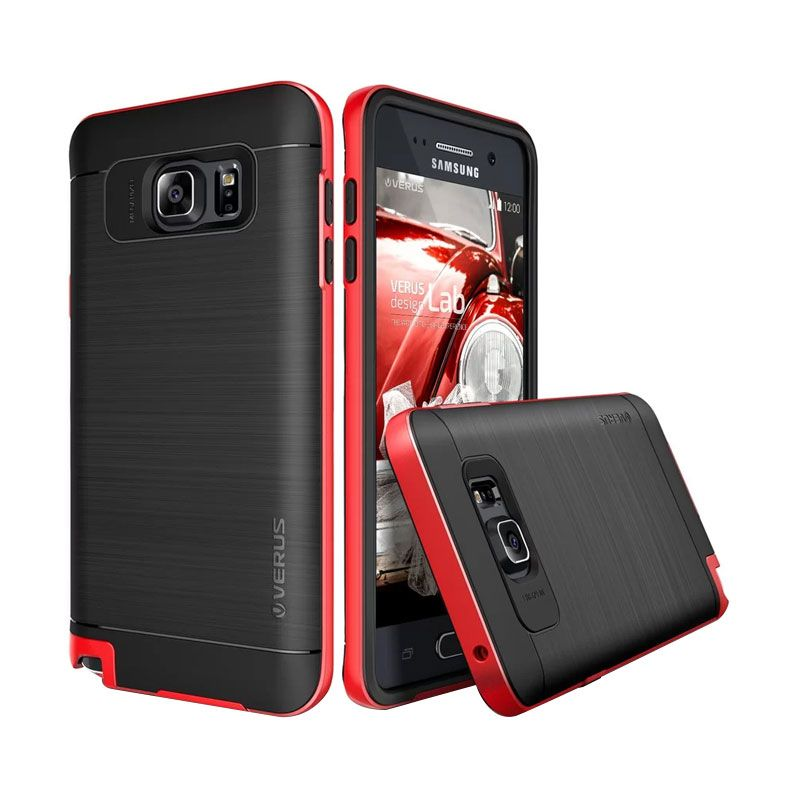 Verus High Pro Shield Crimson Red Casing for Galaxy Note 5
