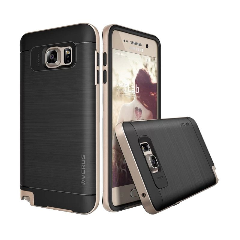 Verus High Pro Shield Shine Gold Casing for Galaxy Note 5