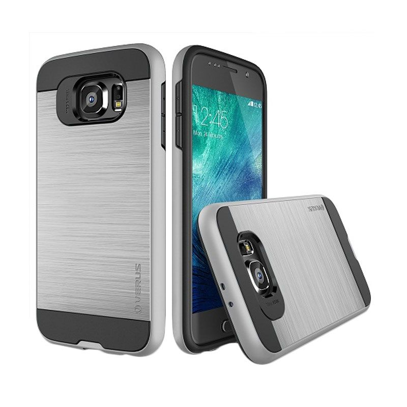 Verus Verge Light Silver Casing for Samsung Galaxy S6