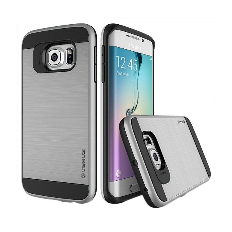 Verus Verge Light Silver Casing for Galaxy S6 Edge