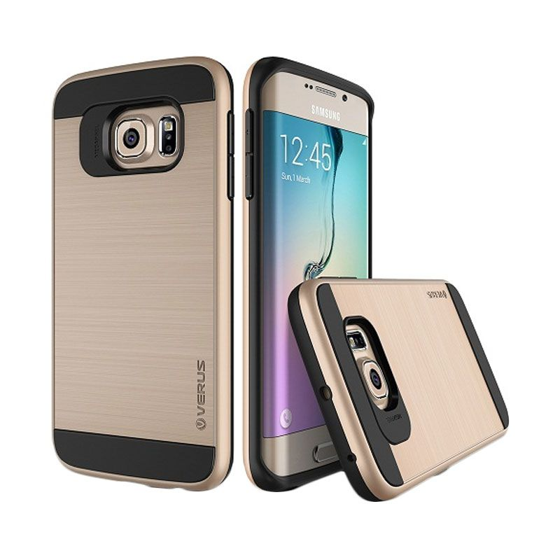 Verus Verge Shine Gold Casing for Samsung Galaxy S6 Edge