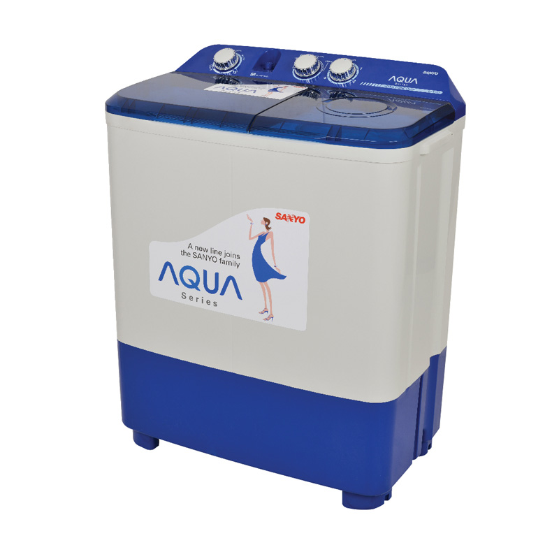 Weekend Deal - Aqua QW880XT Mesin Cuci [2 Tabung]