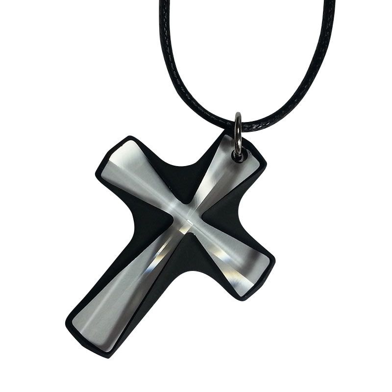 AR Signature Cross with Black Dove List