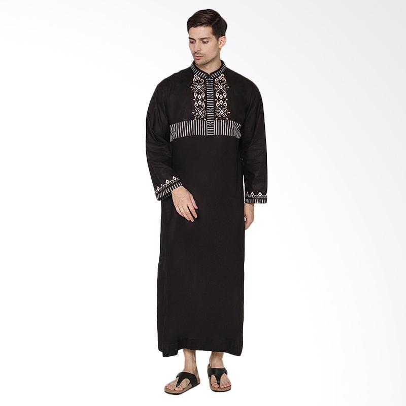 Arafah Ammar Gamis Pria Black