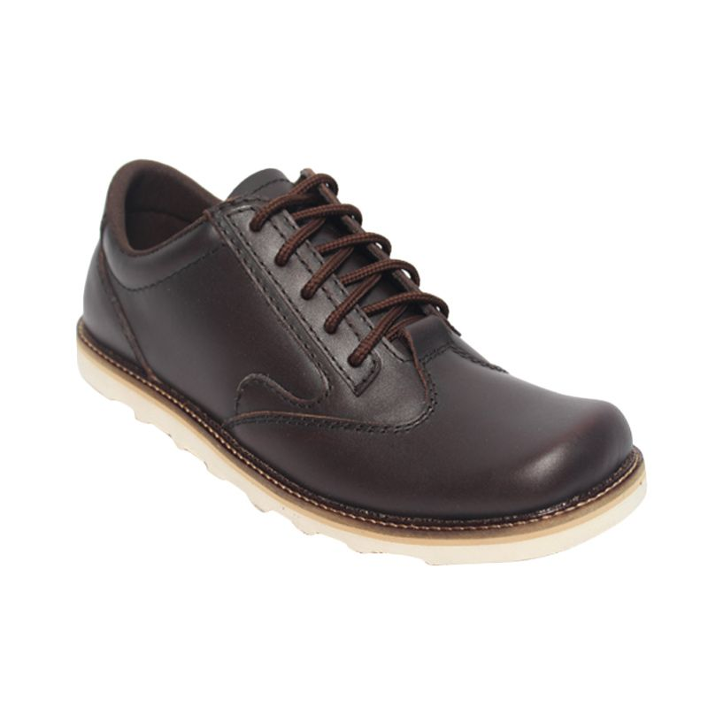 Raindoz Boots Low Dark Brown Sepatu Pria