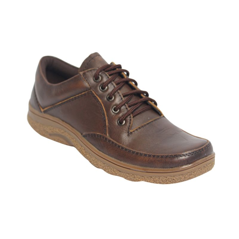 Raindoz Boots Low Lace Dark Brown Sepatu Pria
