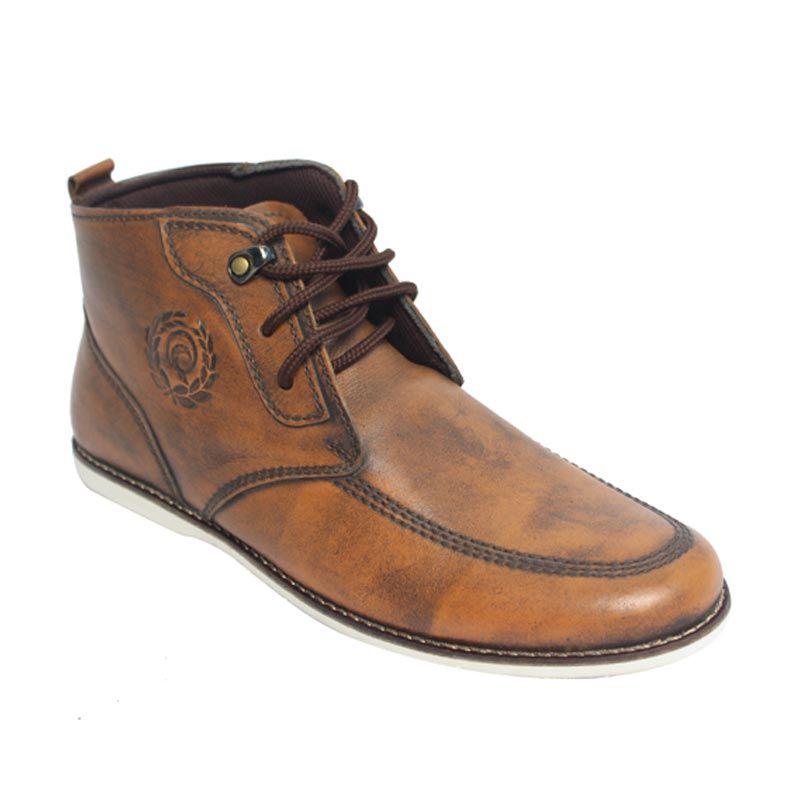 Raindoz Casual High RMP 069 Light Brown Sepatu Pria