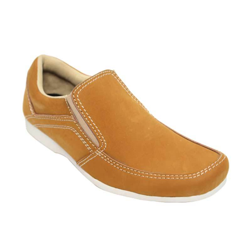Raindoz Casual Slip Tan Sepatu Pria