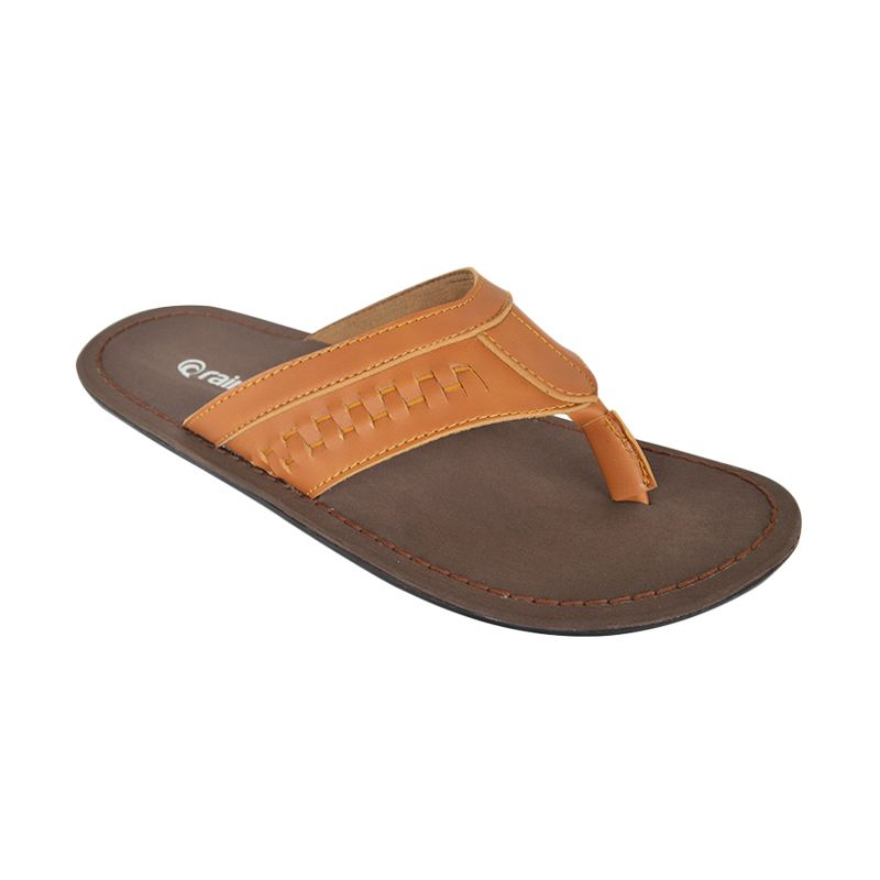 Raindoz Half Brown Sandals