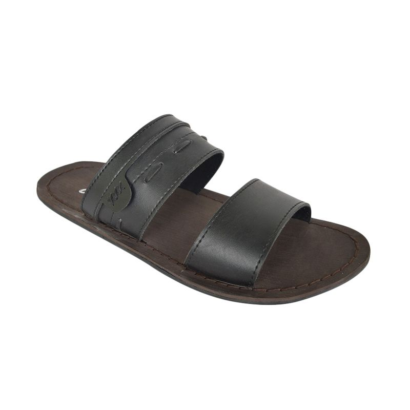 Raindoz Half Dark Brown Sandals