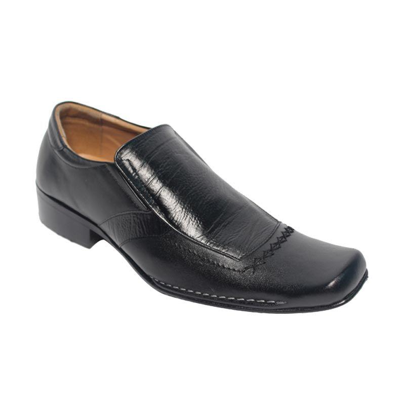 Raindoz Pantofel RDF 004 Black Sepatu Pria
