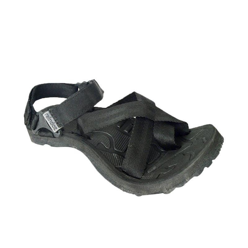 Raindoz Tracking Black Sandals