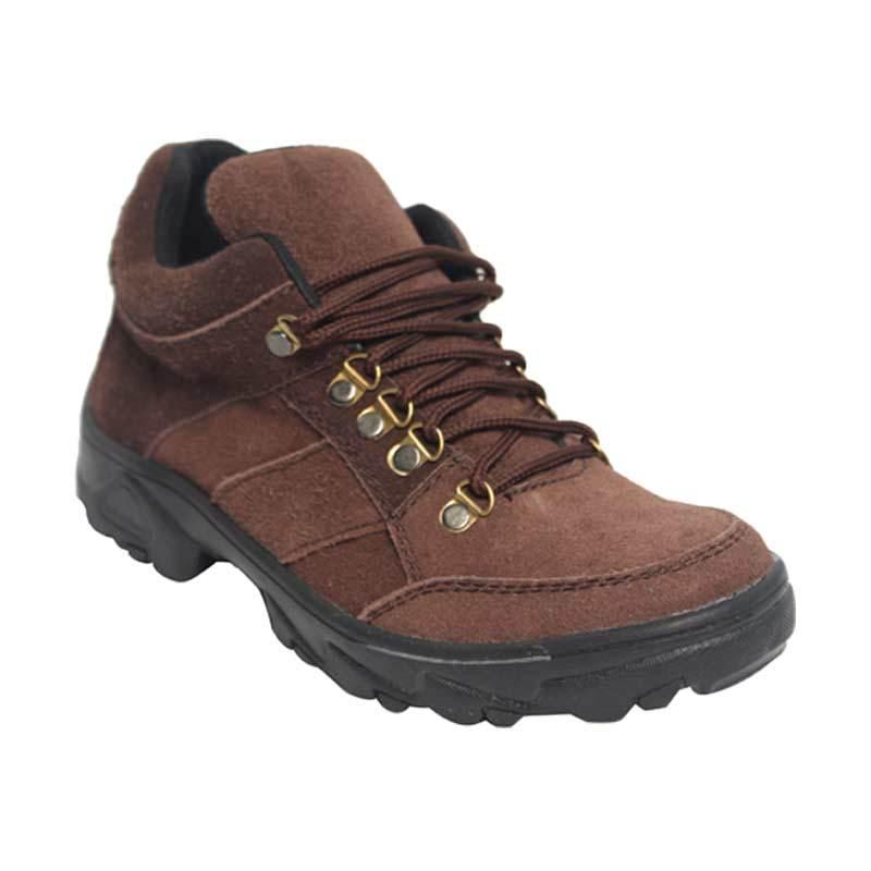 Raindoz Tracking Low Brown Sepatu Pria