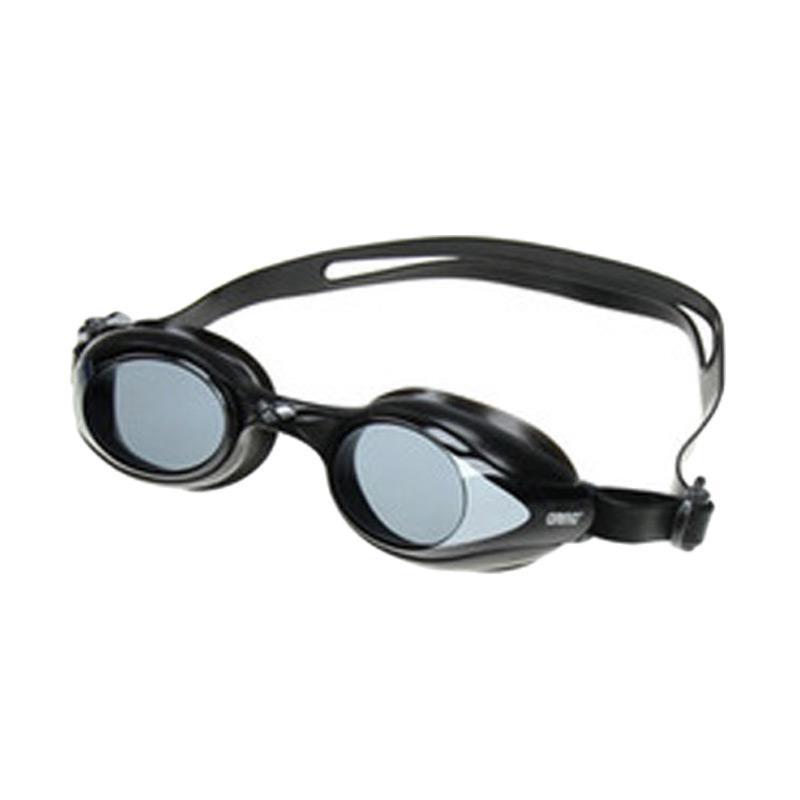 Arena Ags 550 Blk Swim Goggles Training Kacamata Renang Black