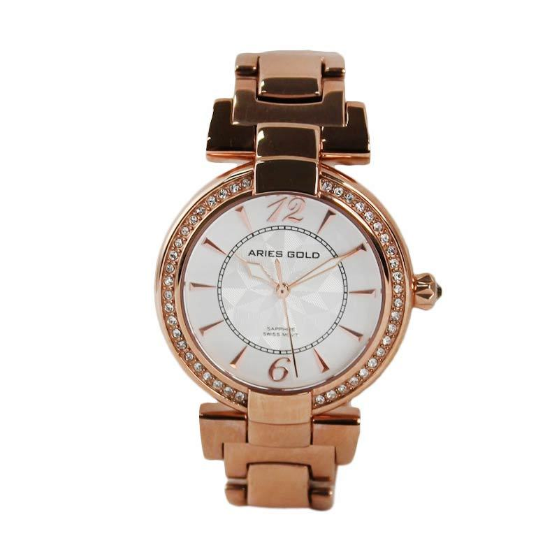 Aries Gold Enchant L 500 RD-White Jam Tangan Wanita