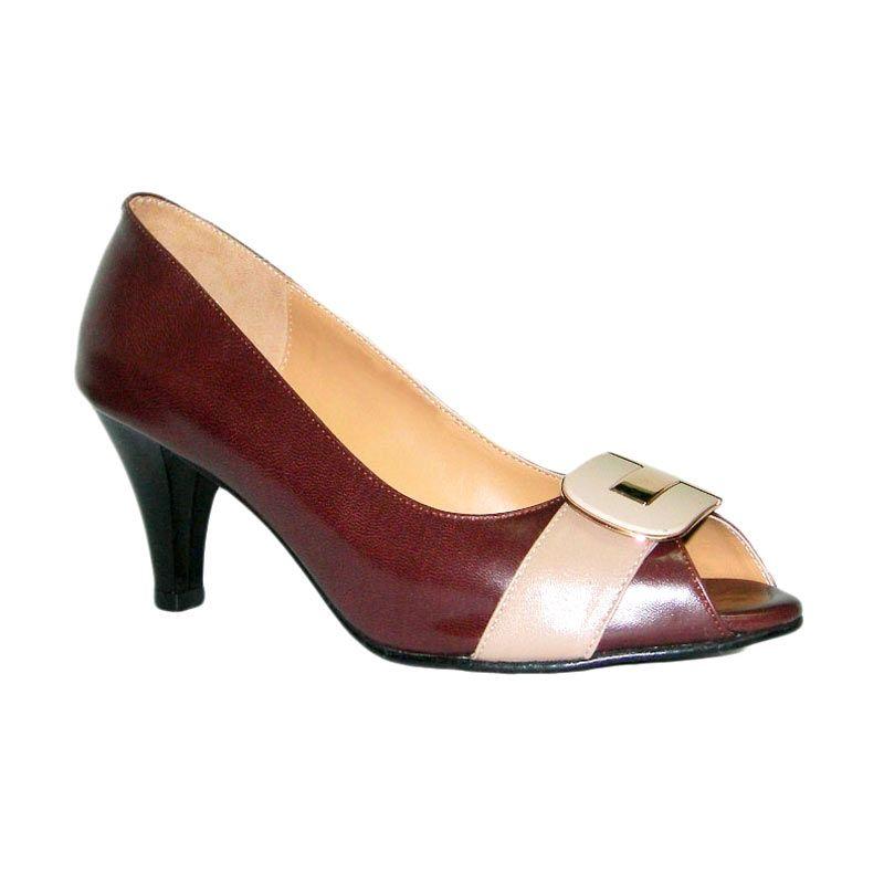 Aris Amely Coklat Sepatu Wanita
