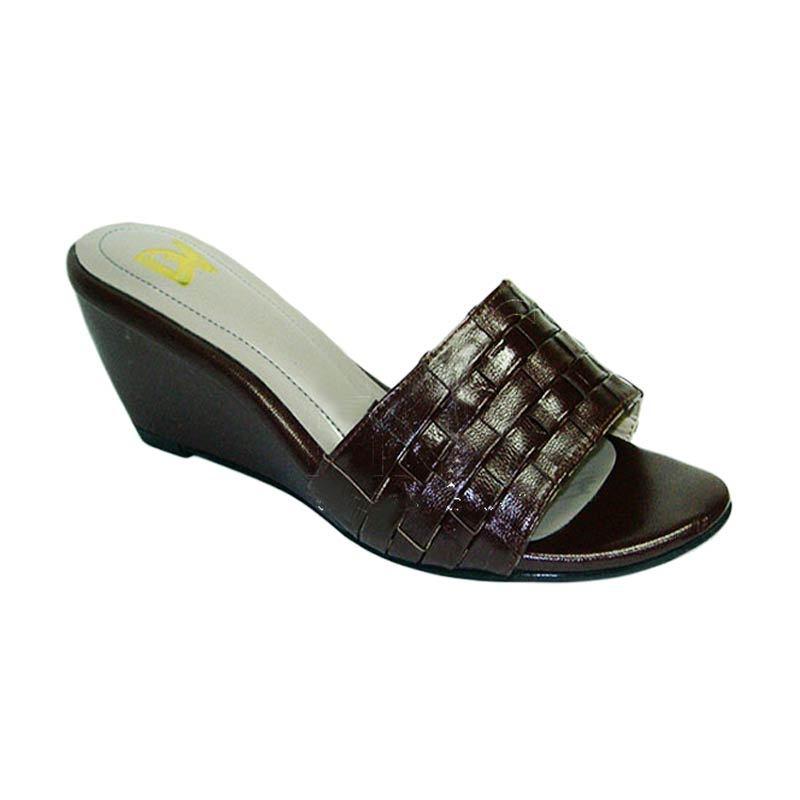 Aris Diamond Coklat Sepatu Wanita