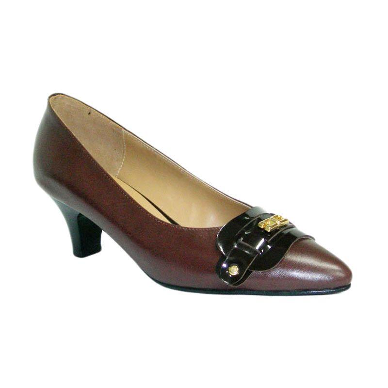 Aris Lizbeth Coklat Sepatu Wanita