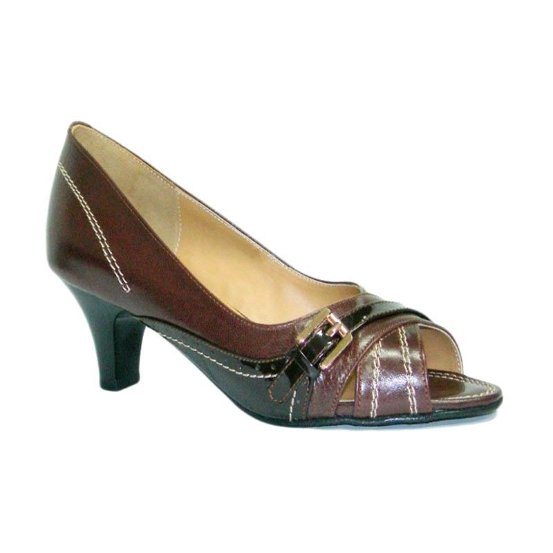 Aris Mischa Coklat Sepatu Wanita