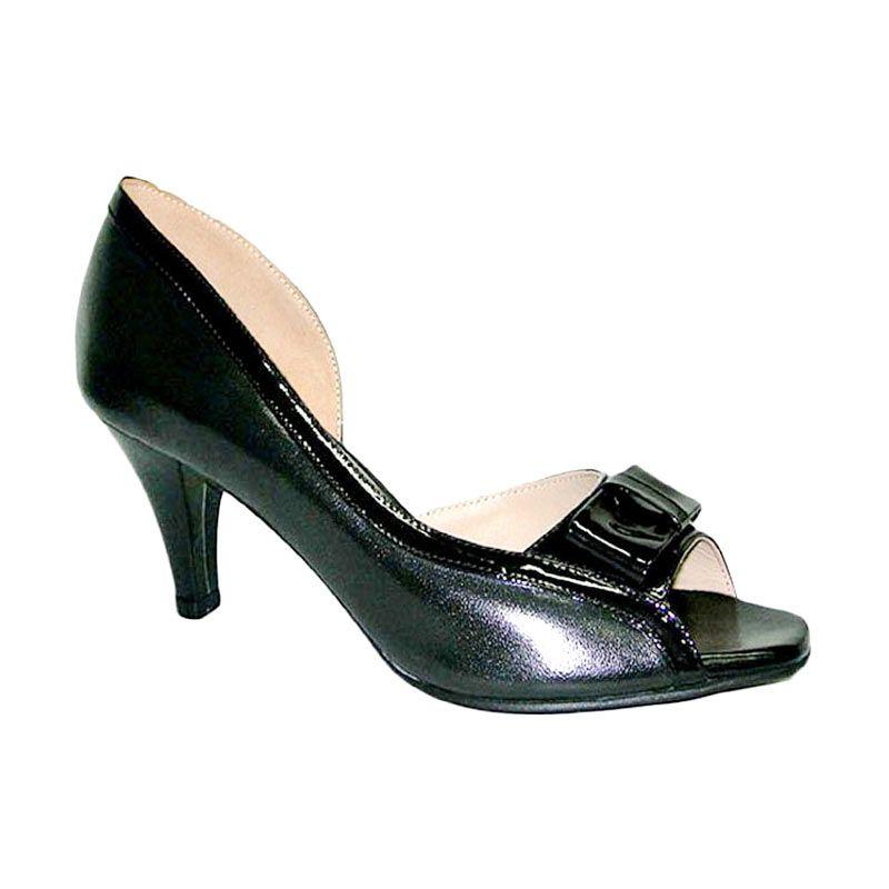 Aris Monica Hitam Sepatu Wanita