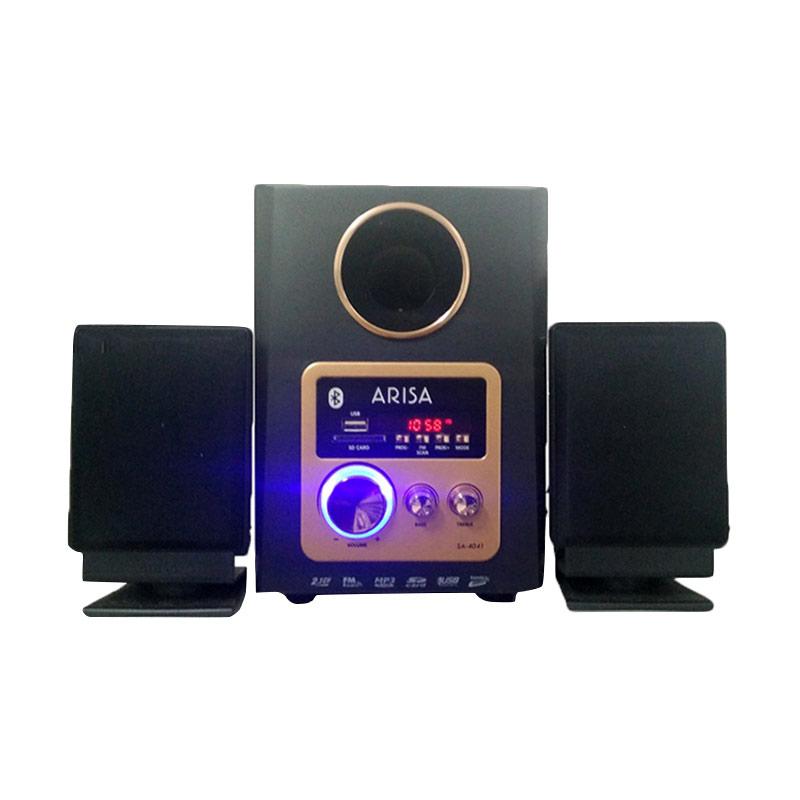 Arisa SA-4041 Bronze Multimedia Player Speaker [2.1 Ch]