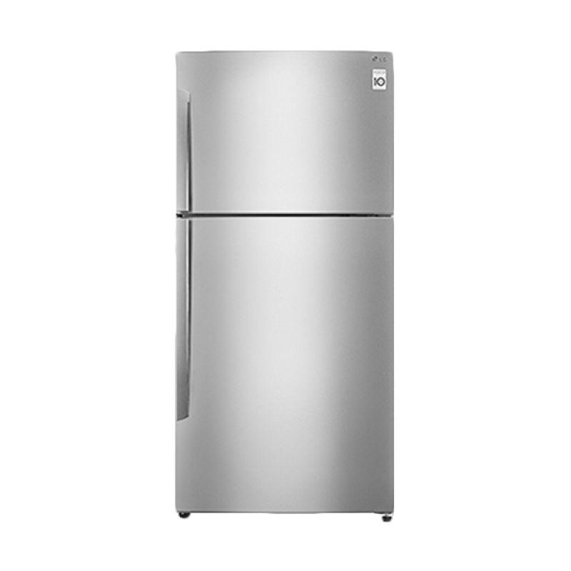harga LG GNB602HLCL Silver Kulkas / Lemari Es / Refrigerator [2 Pintu] Blibli.com