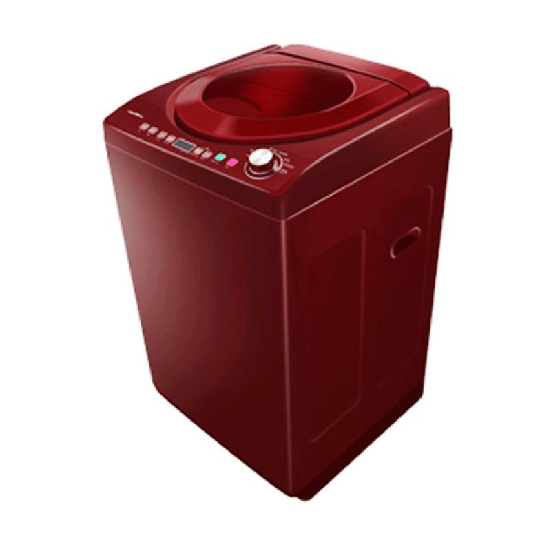 Polytron PAW-9512WM Merah Mesin Cuci [1 Tabung / 9,5 Kg]